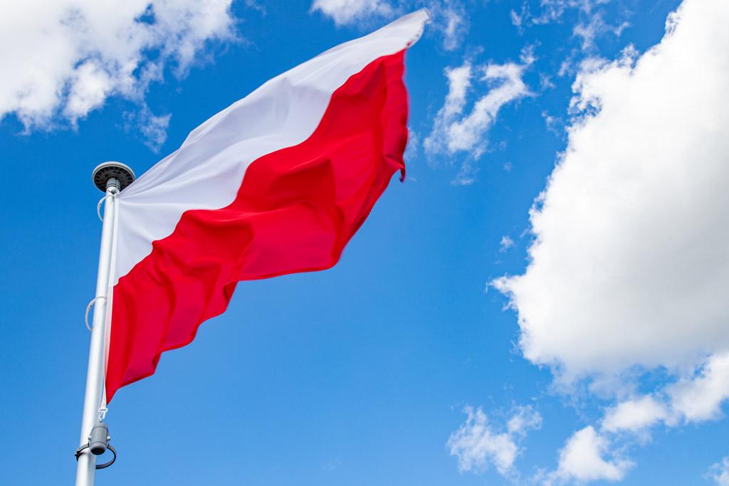 Polsk flagga